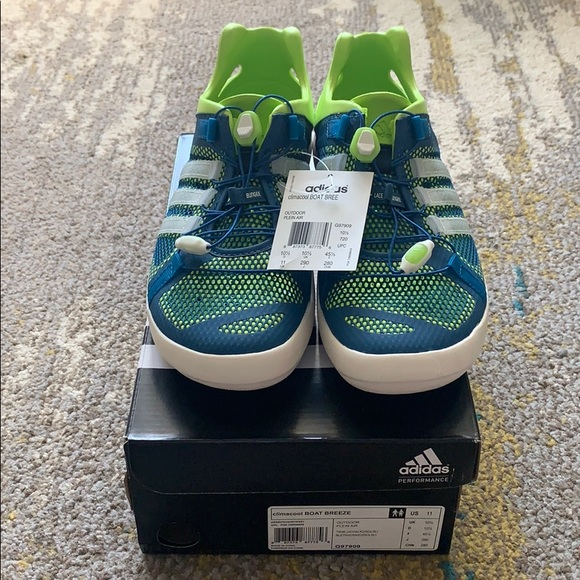NEW adidas climacool boat breeze size 11